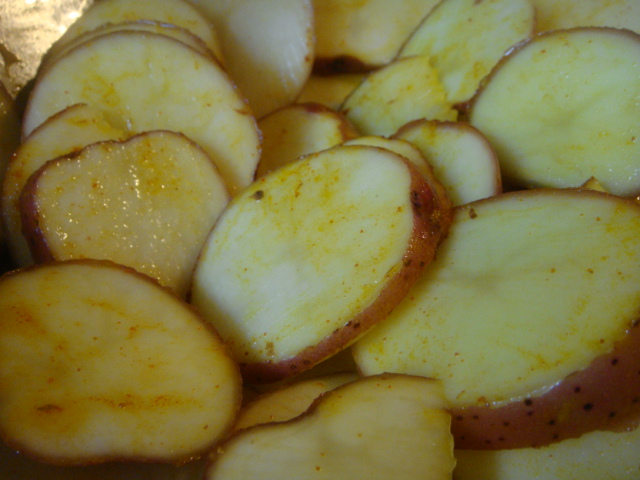 Potato fry marinade