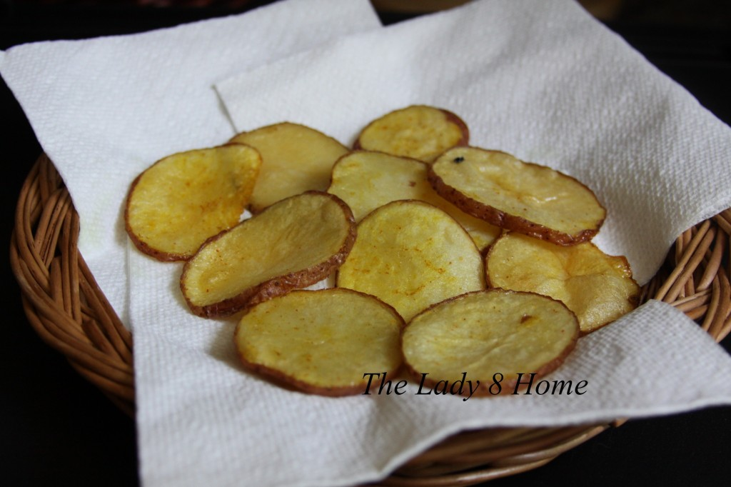 Homemade fries soft