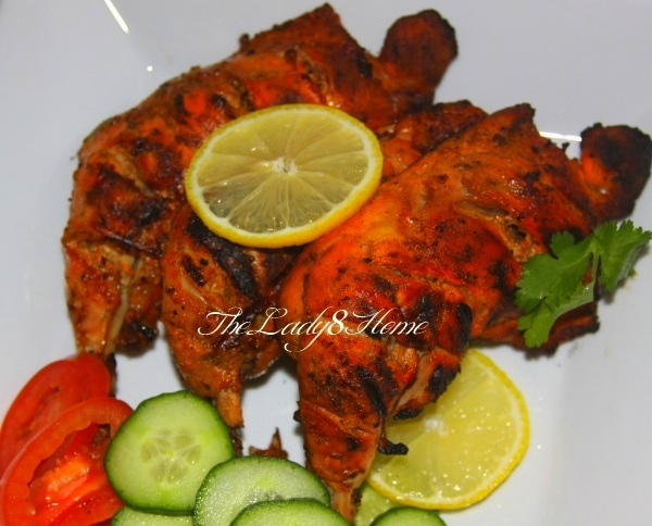 Tandoori chicken from scratch the lady 8 home chicken tandoor4 forumfinder Image collections
