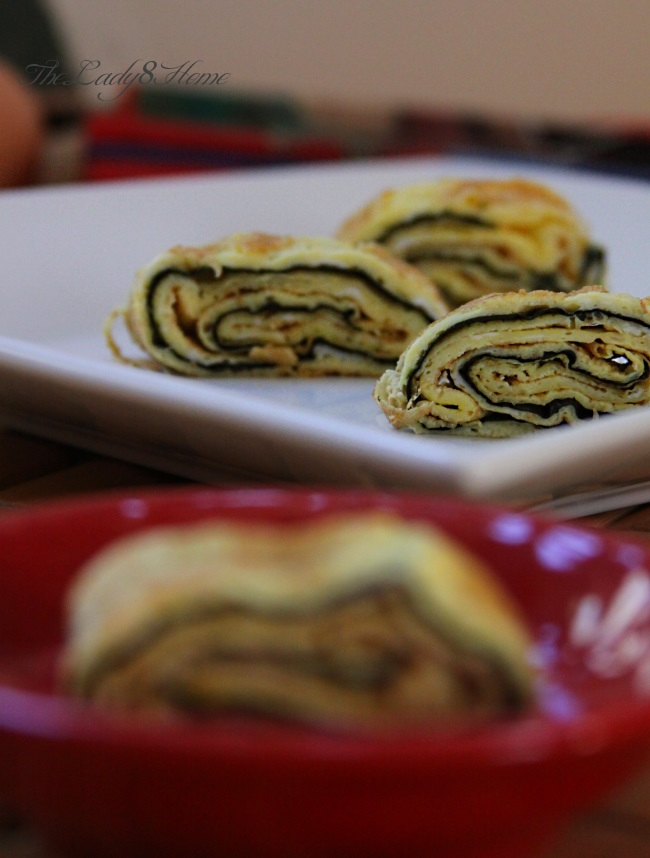 omelet with nori sheet
