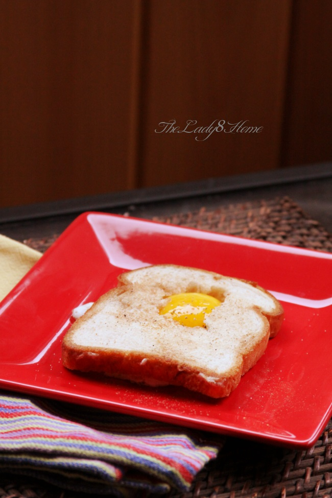 toast on egg