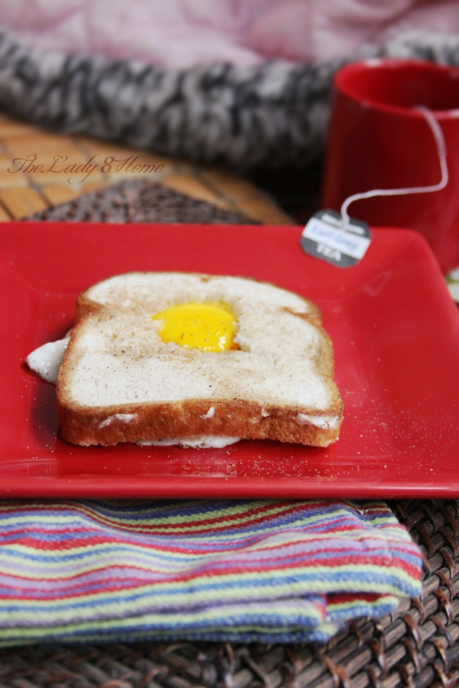 Egg and Toast in butter