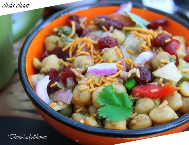 Chola/chana chaat
