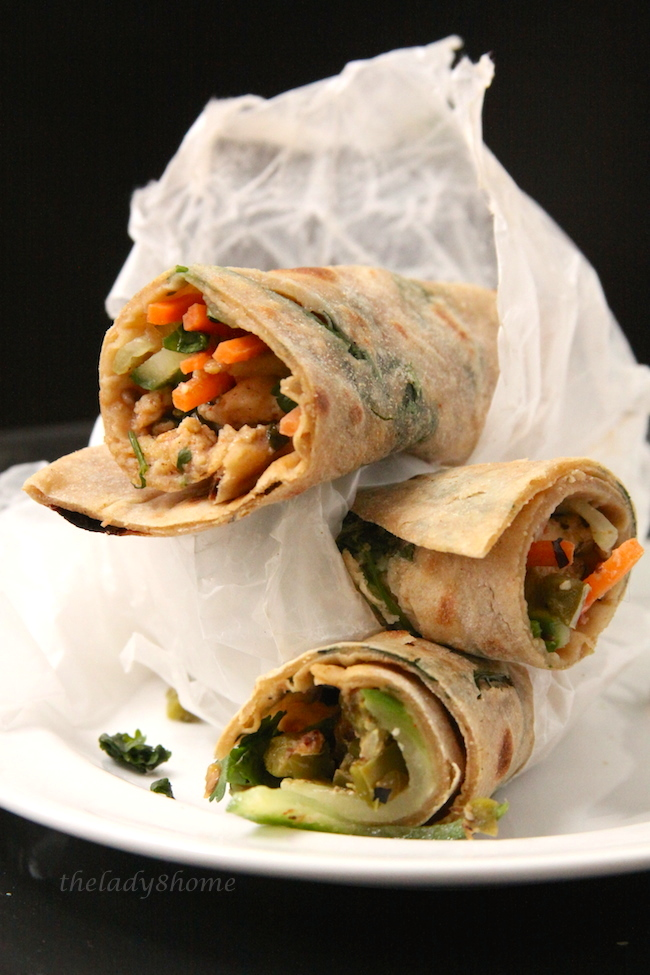 kathi roll delicious