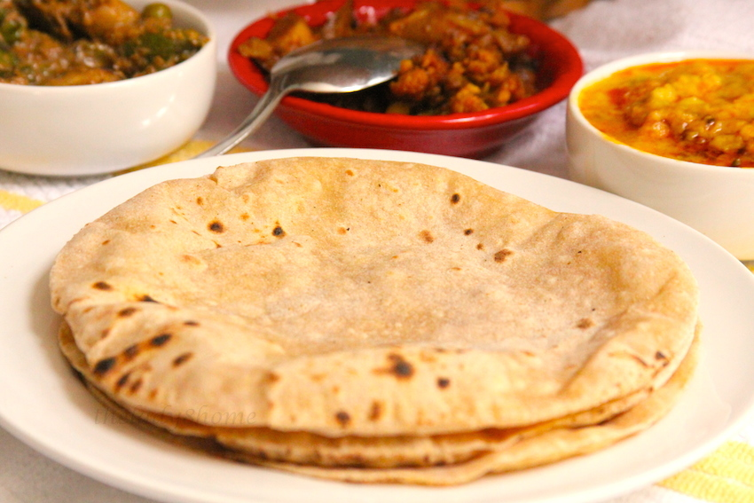 RotiChappati Indian Flatbread Step By The Lady 8 Home