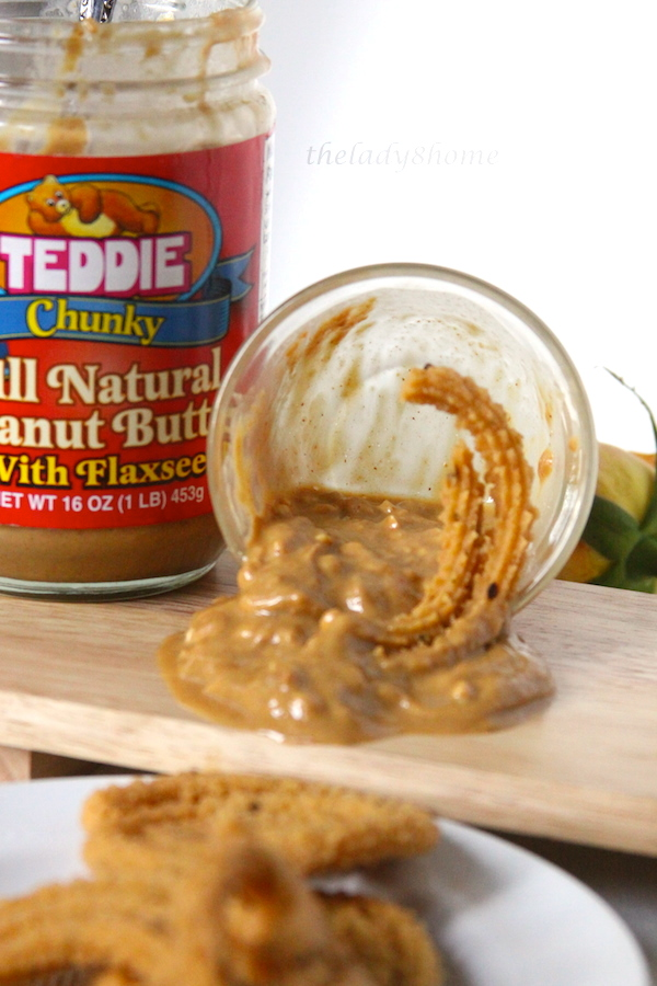 peanut butter with flax seeds