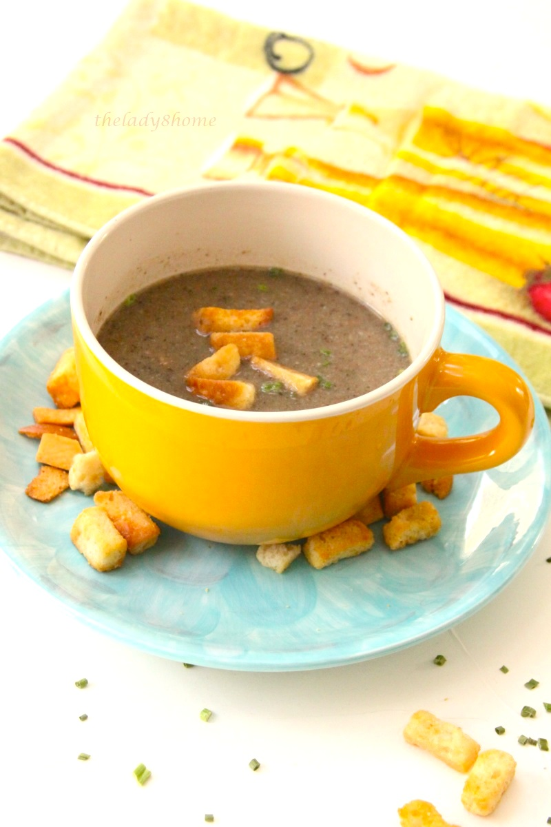 Cream of wild Mushroom Soup #Ina Fridays – The Lady 8 Home