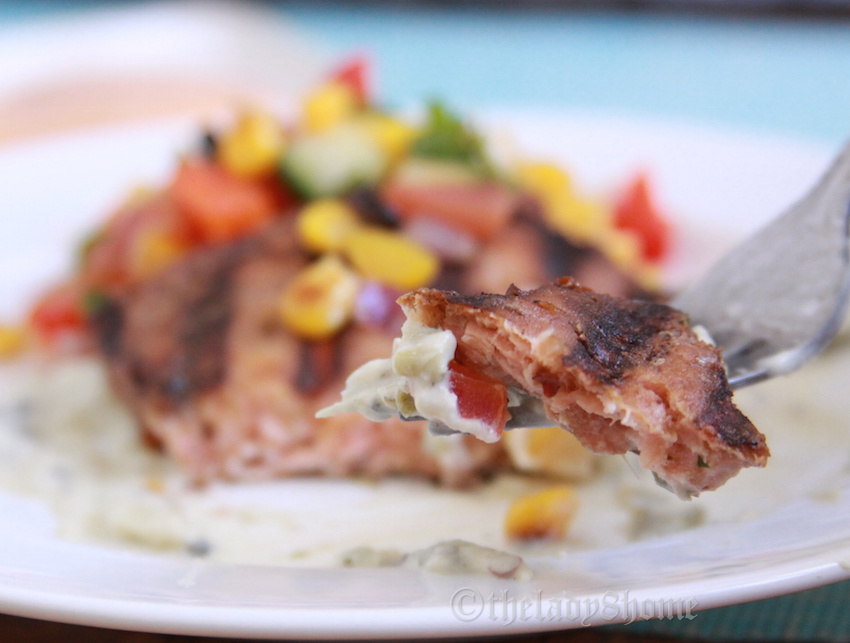 Boys in girls team and Firecracker salmon with Tequila sauce | The ...