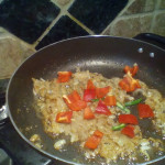 4.green chili and bell pepper